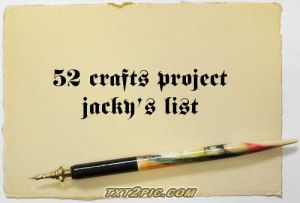 jacky's list